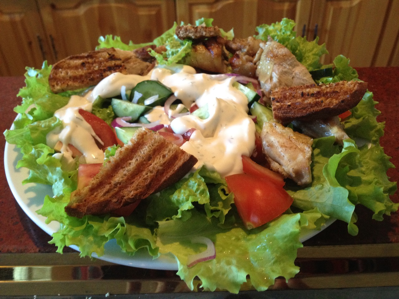 Chicken Caesar Salad2