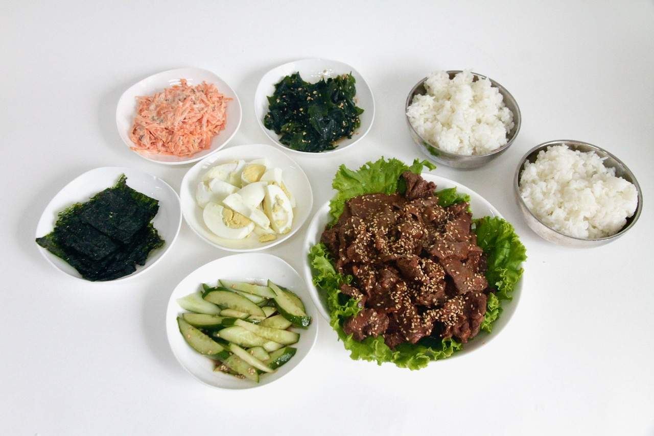Korean Beef for 3