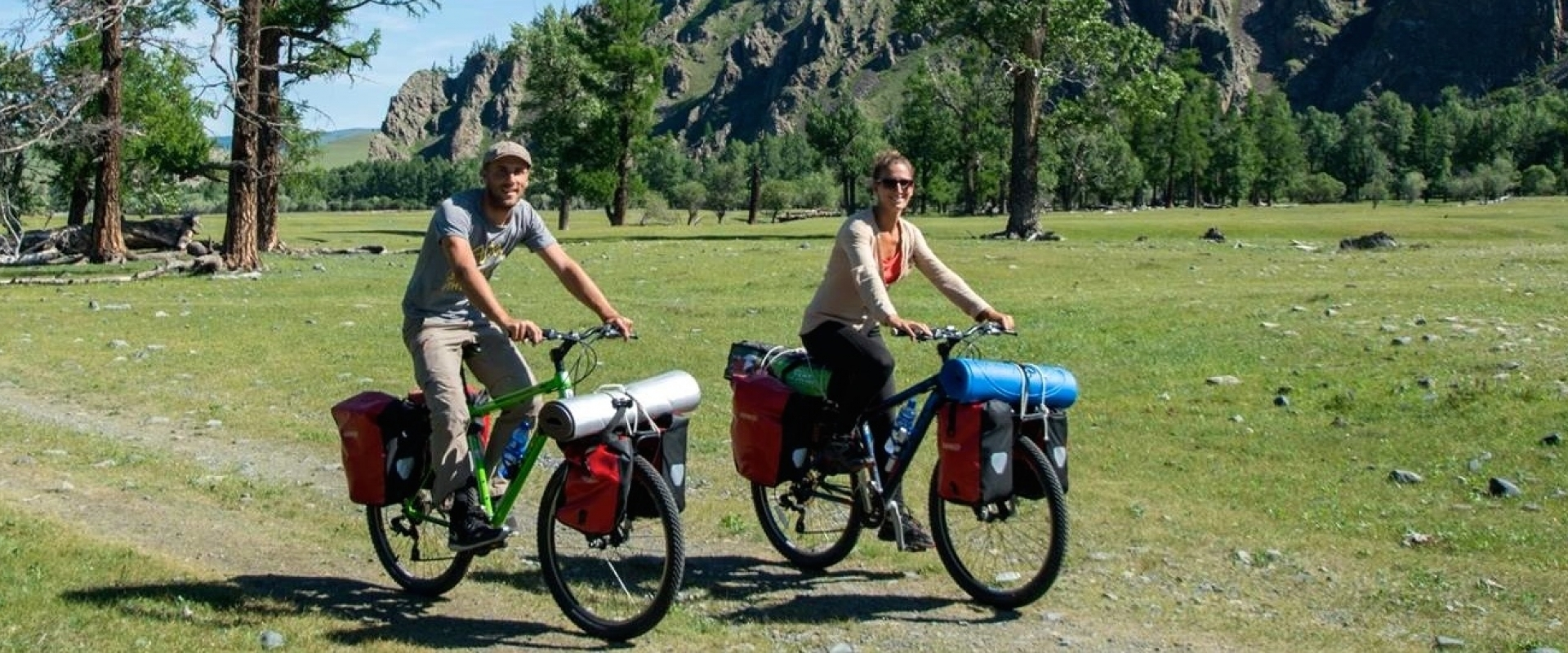 Explore Mongolia with fully equipped touring bikes