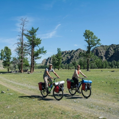 Cycle Touring - Cycling with panniers